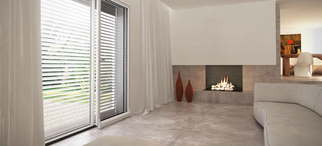 Sistemi oscuranti frangisole esterni in alluminio - Frangisole esterni per finestre ...